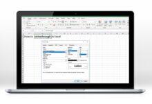 Comment passer au travers d'Excel