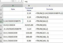 Comment utiliser la fonction TRUNC d'Excel