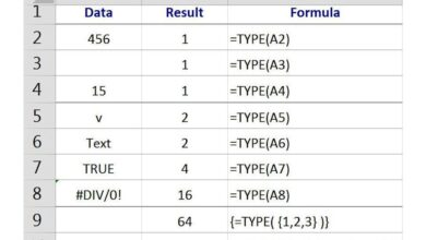 Comment vérifier le type de données dans une cellule Excel