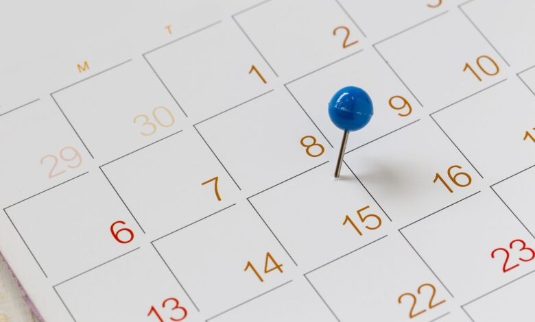 Comptez les jours entre deux dates dans Excel