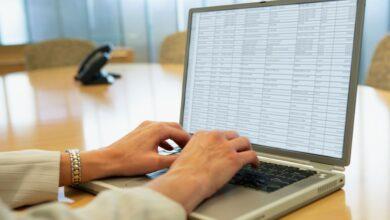 Types de données des tableurs Excel