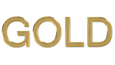 126 styles de calques dorés téléchargeables gratuitement pour Photoshop