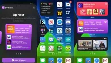iOS 14 Widgets pour l'écran d'accueil