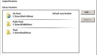 Ajout et suppression de musique dans le lecteur Windows Media 12