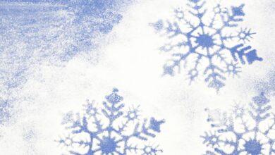 Ajouter de la fausse neige à une photo dans le tutoriel GIMP