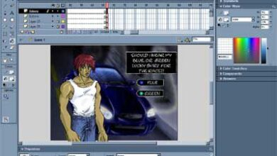 Animation Flash 10 : Créer une nouvelle scène