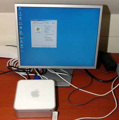Apple Mac OS X contre Windows XP