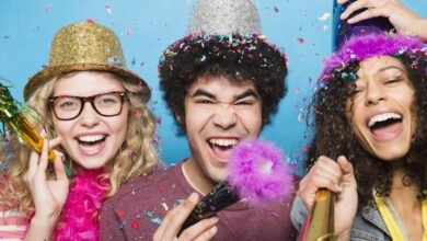 Célébrez la nouvelle année avec des modèles gratuits