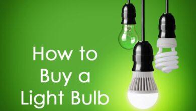 Comment acheter une ampoule électrique