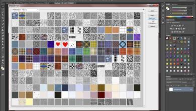 Comment ajouter des motifs personnalisés et les enregistrer sous forme de set dans Photoshop
