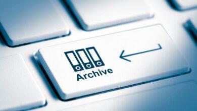 Comment archiver des messages électroniques dans Outlook