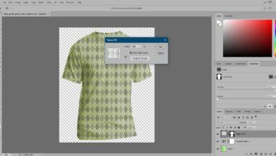 Comment changer de couleur et ajouter un motif dans Photoshop