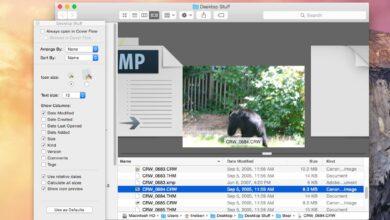 Comment contrôler les options d'affichage du flux de couverture de votre Mac