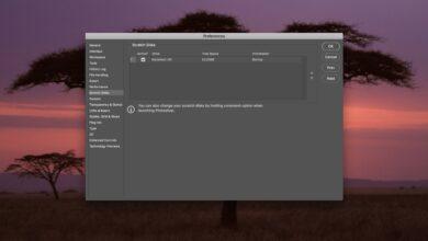 Comment corriger les erreurs de plein écran des disques à gratter de Photoshop