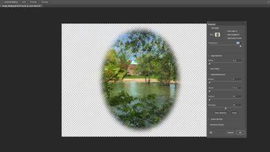 Comment créer un effet de vignette en fondu doux dans Adobe Photoshop CC