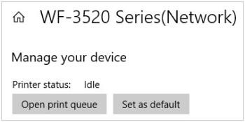 Définir l'imprimante par défaut dans Windows 10
