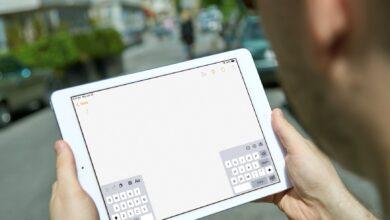 Comment déplacer le clavier sur l'iPad