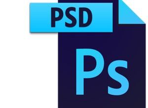 Icône du fichier PSD