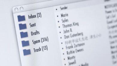 Comment modifier la taille de la police de la liste de messages Outlook