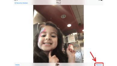Comment récupérer ou supprimer une photo sur l'iPad