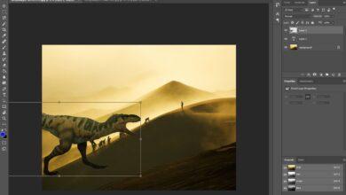Comment redimensionner un calque dans Photoshop
