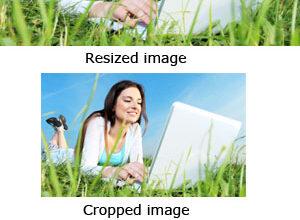 image redimensionnée