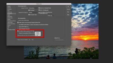 Comment sauvegarder les fichiers PSD pour les anciennes versions de Photoshop