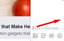 Notification de lecture des messages sur Facebook