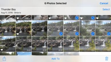 Comment sélectionner rapidement plusieurs photos dans iOS