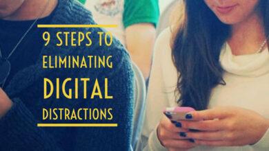 9 étapes pour éliminer les distractions numériques