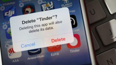 Comment supprimer le Tinder