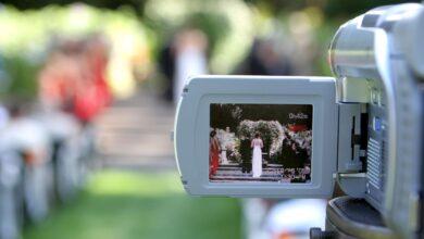 Comment tourner une vidéo de mariage