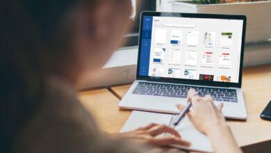 Comment trouver des modèles Microsoft Word sur Office Online