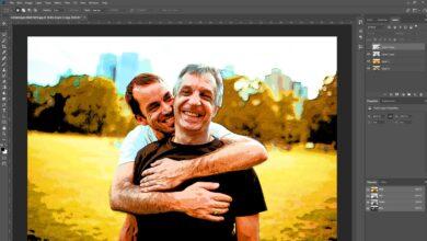 Comment utiliser l'effet cartoon de Photoshop