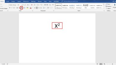 Comment utiliser les caractères superscript en Word