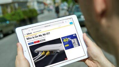 Comment utiliser les widgets de l'iPad dans un safari
