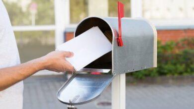 Boîte aux lettres extérieure