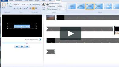 Guide pour la création d'un photomontage dans Windows Movie Maker
