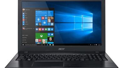 Meilleur ordinateur portable polyvalent : Acer Aspire E15