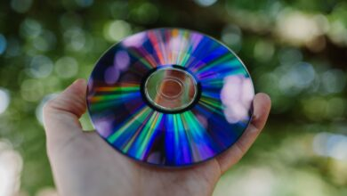 Les parties physiques d'un CD et leur effet sur la conception
