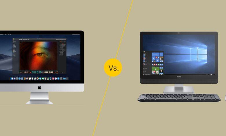 Mac contre PC pour la conception graphique
