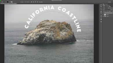 Mettre le texte sur un chemin ou dans une forme dans Adobe Photoshop CC