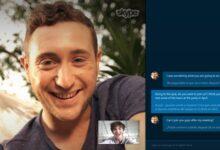 Capture d'écran de Skype Translator Preview