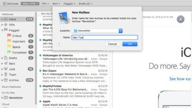 Organisez le courrier de votre Mac avec des boîtes aux lettres