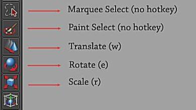 Outils Maya de mise à l'échelle précise et de manipulation d'objets