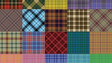Photoshop Motifs de plaids pour Photoshop par Shelby Kate Schmitz