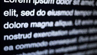 Placeholder Text ou Lorem Ipsum