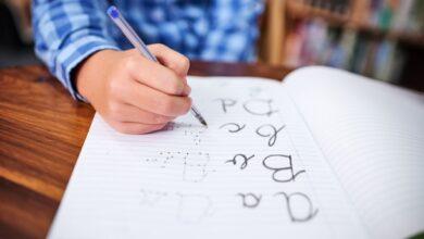 Polices d'impression et d'écriture cursive pour les éducateurs