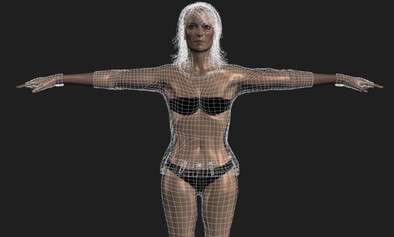 Préparer un modèle 3D pour l'animation avec gréement