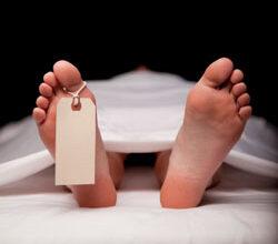 cadavre à la morgue